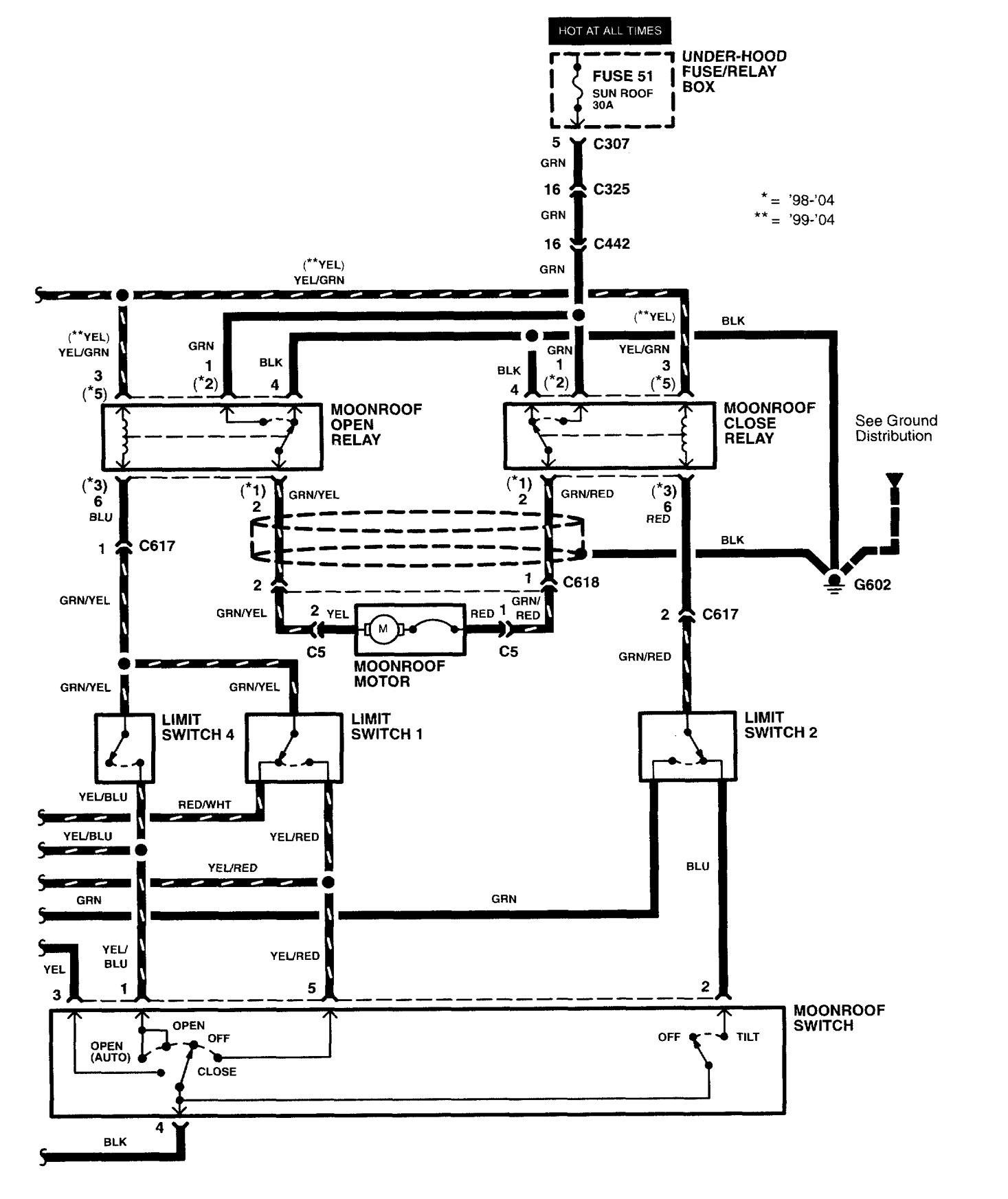 [WRG-6251] 2004 Acura Rl Wiring Diagram