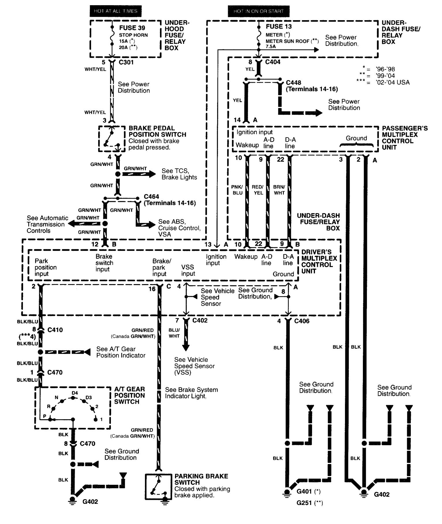 Free Fuse Diagram For 1991 Acura Integra Auto Electrical Wiring 1990 Transmission Sensor Related With