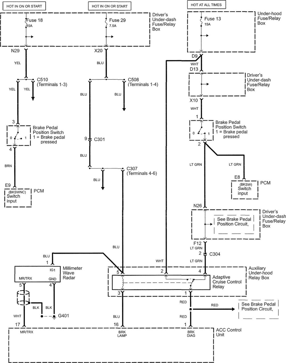 medium resolution of acura rl wiring diagram speed control part 4