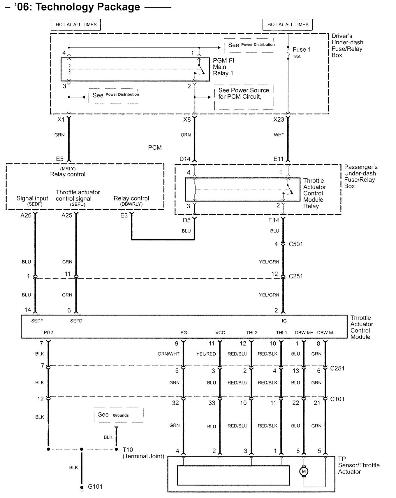hight resolution of acura rl wiring diagram speed control v5 6 2006 pc1616 wiring diagram gandul