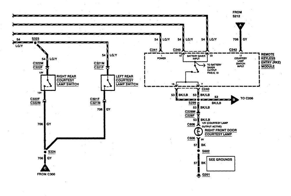 medium resolution of  ford f53 wiring diagrams courtesy lamps part 2