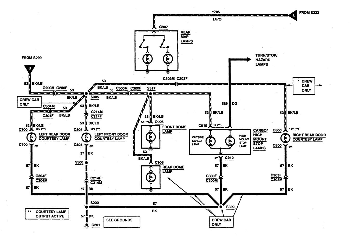 hight resolution of  ford f53 wiring diagrams courtesy lamps part 4