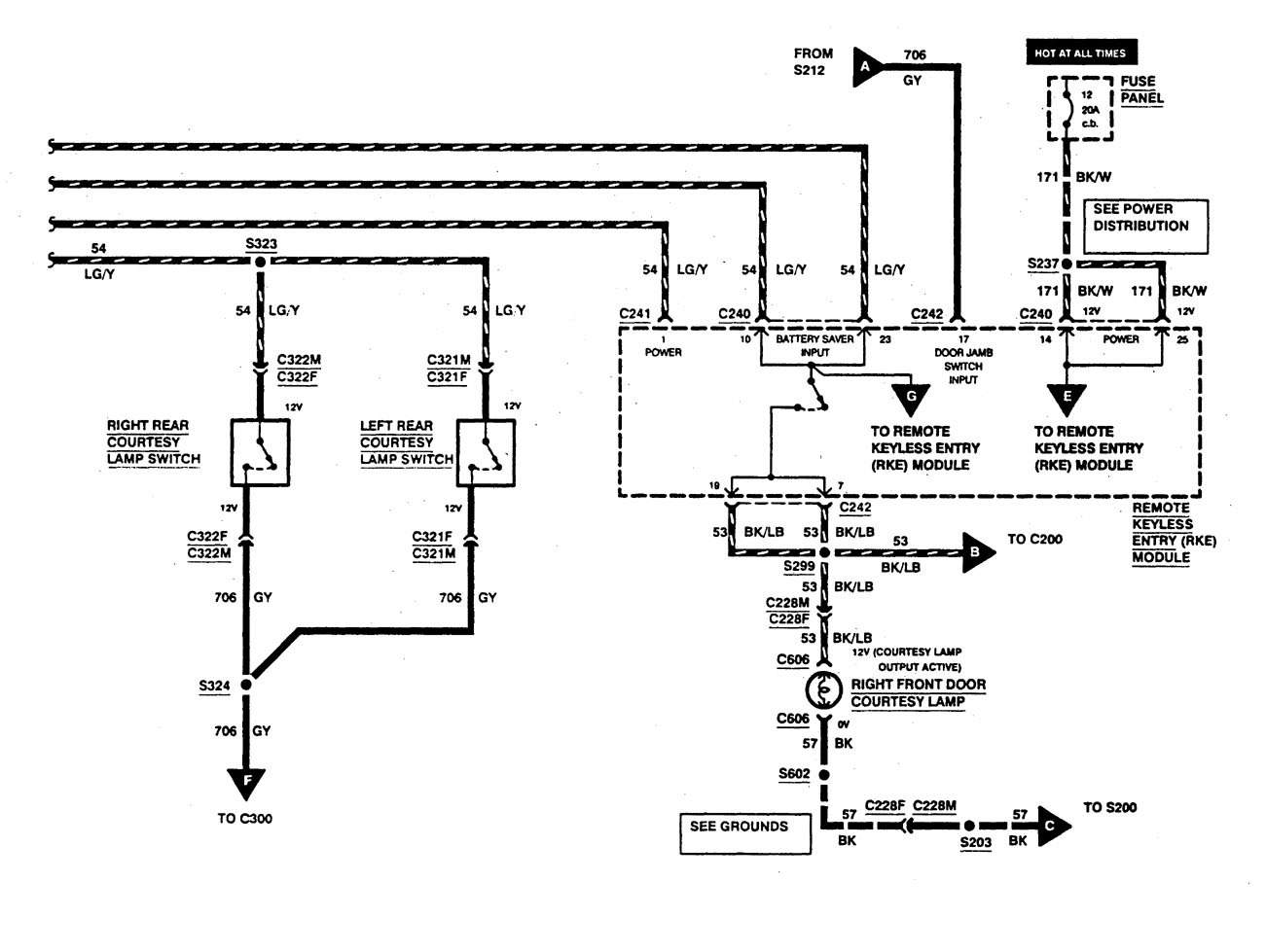hight resolution of ford f53 1997 wiring diagrams keyless entry carknowledge mix ford f53 wiring diagrams keyless