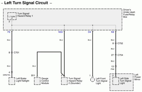 small resolution of acura rl wiring diagram connector part 1
