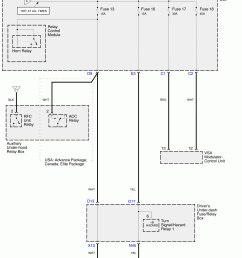 subaru 360 wiring diagram subaru wiring diagrams acura rl wiring diagram power distribution under hood fuse relay box fuses 13 16 17 and [ 2452 x 3164 Pixel ]