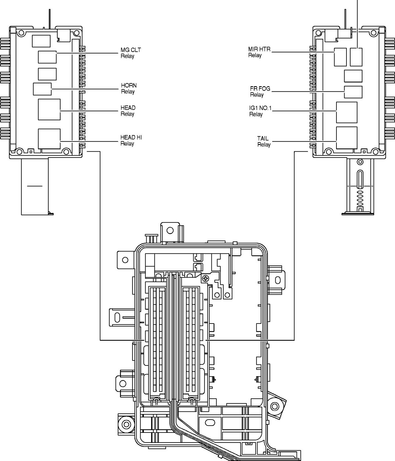 1993 toyota truck fuse box diagram