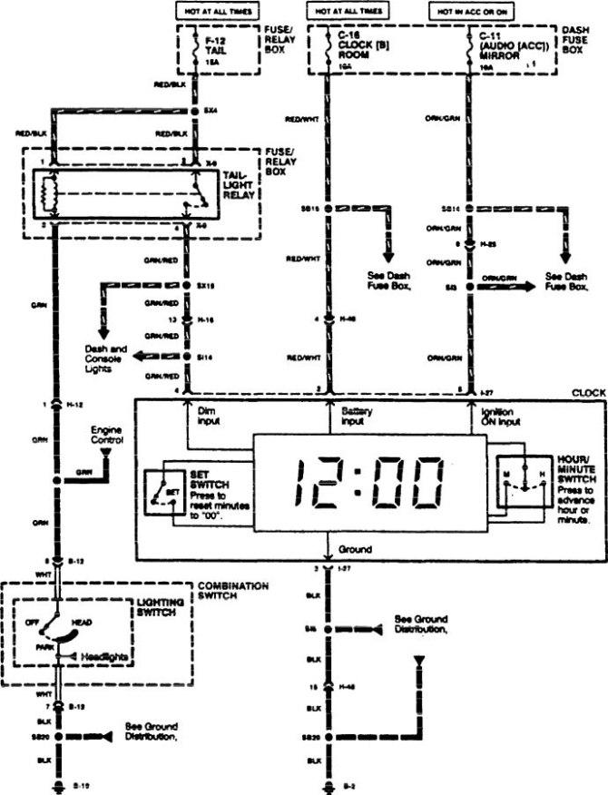 1998 acura slx wiring diagram  gem wiring diagram for