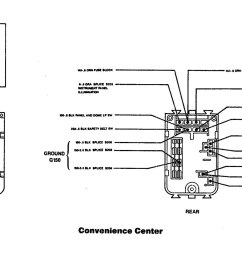 91 buick roadmaster fuse panel diagram [ 1835 x 927 Pixel ]