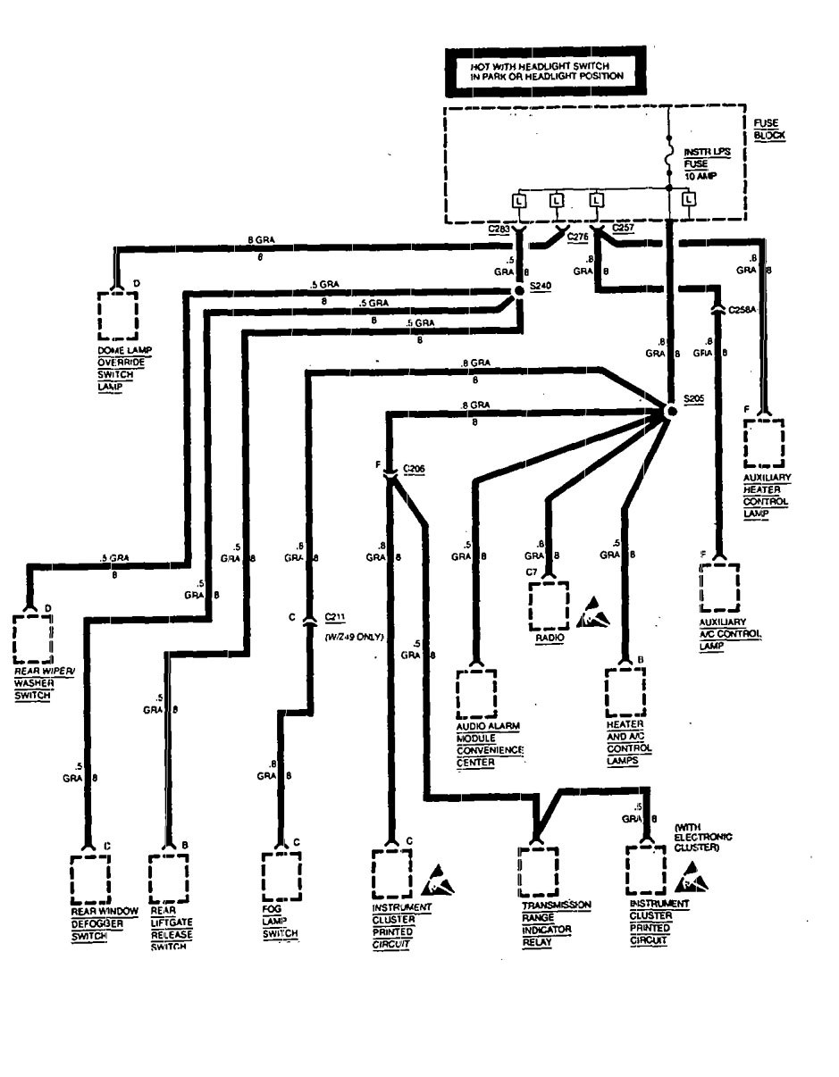 1994 dodge dakota ignition switch wiring diagram oven nz 1968 chevelle dash database chevrolet astro fuse box auto electrical 1972