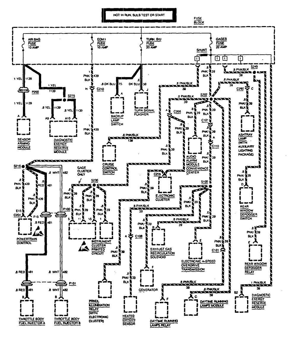 hight resolution of wiring diagram for 1990 gmc sierra