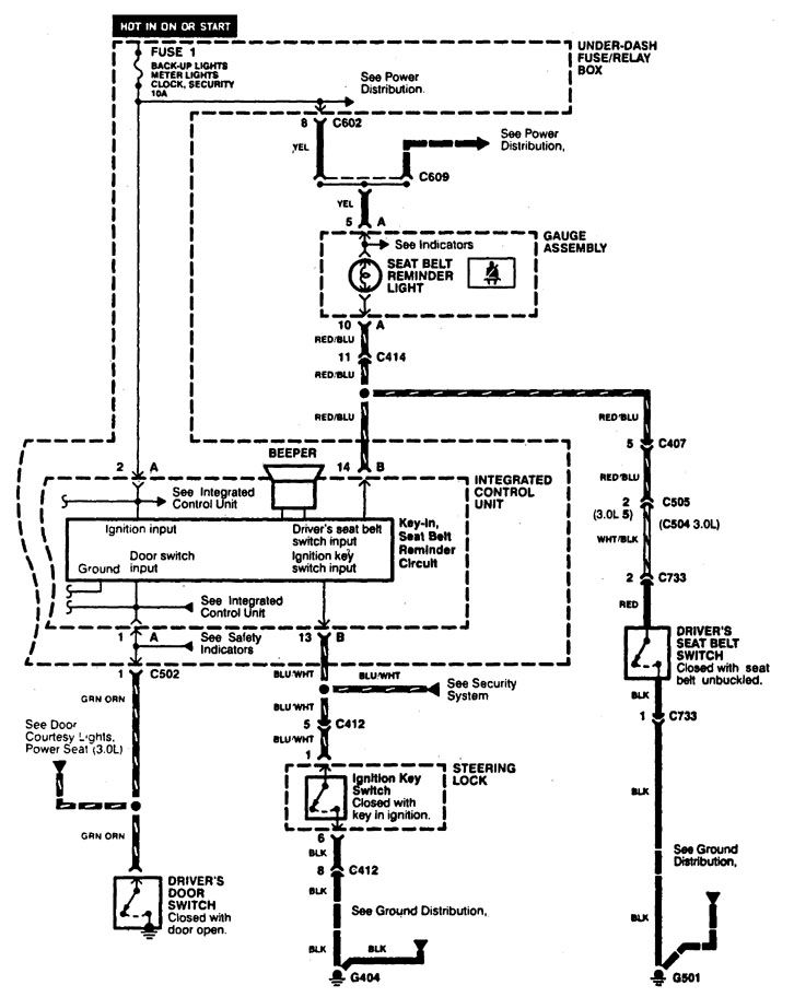 1999 Acura Integra Stereo Wiring Diagram