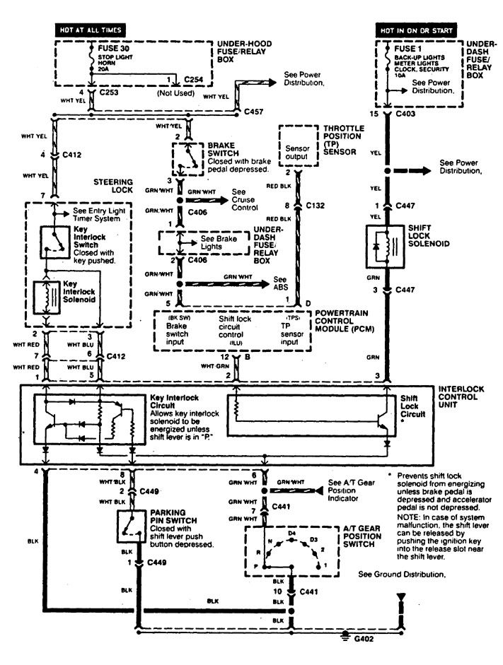 radio wiring diagram 1998 acura slx