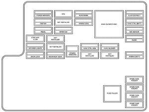 Chevrolet Malibu (2010) – fuse box diagram  CARKNOWLEDGE