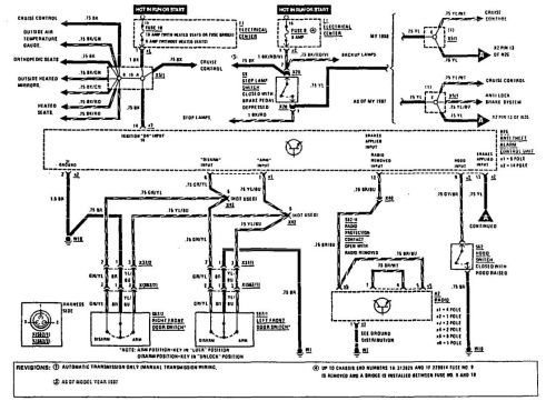 small resolution of mercedes benz 190e 1990 1991 wiring diagrams security anti theft