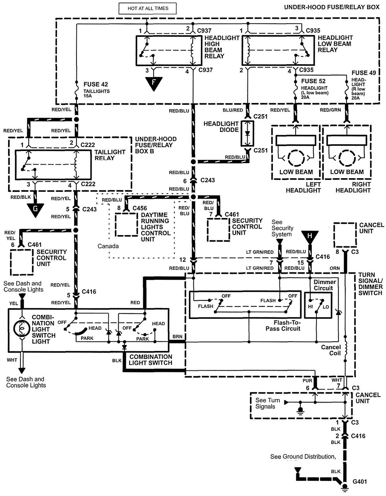 hight resolution of acura tail light wiring diagram yamaha dt3 wiring diagram acura integra headlight wiring diagram acura rsx headlight wiring diagram