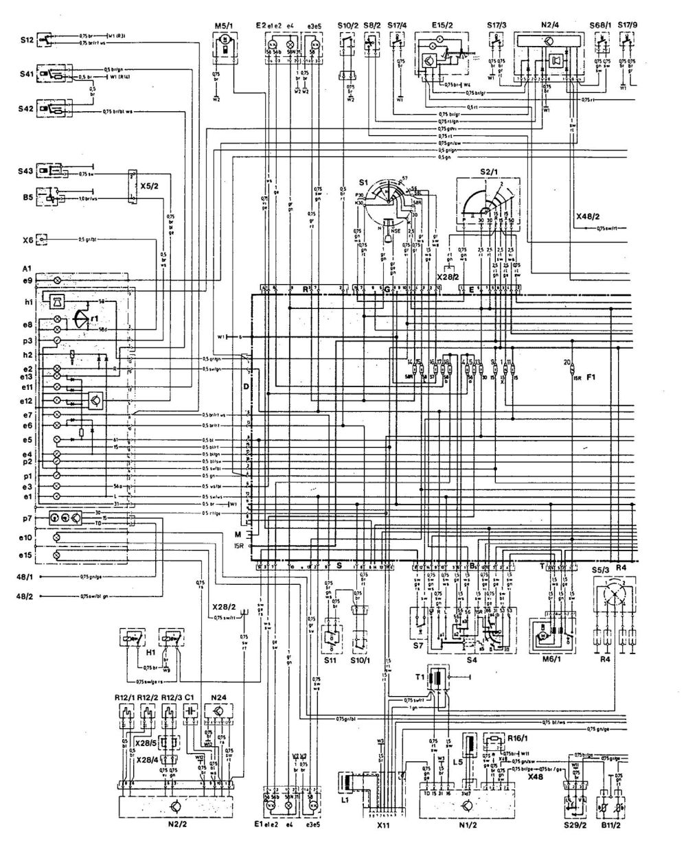 medium resolution of mercedes 190e 1992 wiring diagrams charging system