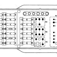 Fuse Box Panel Wiring Diagram Yamaha Xs650 Chopper Mercedes Benz 190e 1992 1993 Diagrams