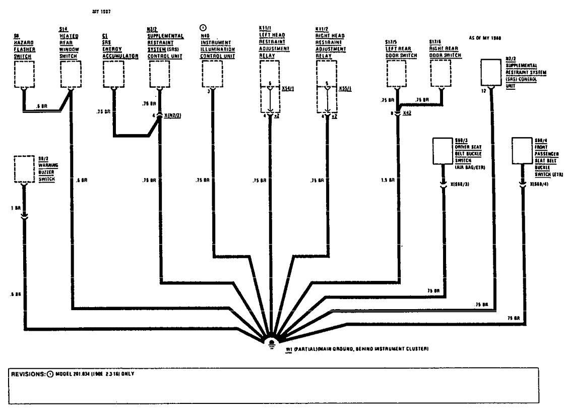 Captivating Mercedes 190e Wiring-diagram Radio Gallery - Best Image ...