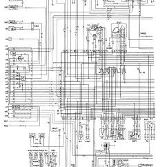 Ecu Wiring Diagram Mercedes Two Way Switched Light 190e 1992 Diagrams Ignition