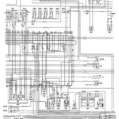 Mercedes Wiring Diagrams Simple Crane Diagram 190e 1992 Ignition