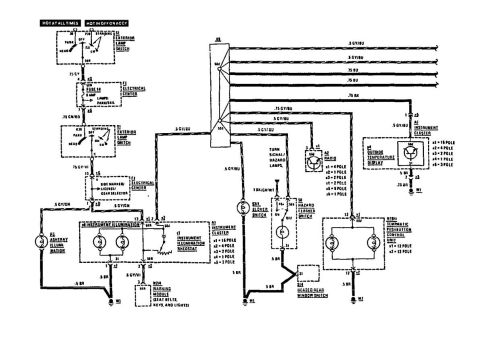 small resolution of mercedes benz 190e electrical wiring diagram block and schematic mercedes benz 190e 1991 wiring diagrams instrument