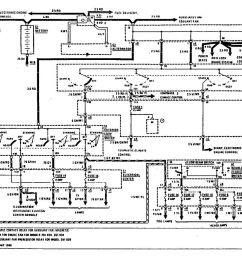 mercedes benz 190e 1990 1991 wiring diagrams power distribution [ 1113 x 860 Pixel ]