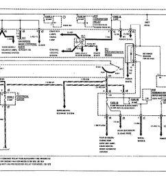 mercedes benz 190e 1990 1991 wiring diagrams power distribution [ 1133 x 837 Pixel ]