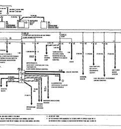 mercedes benz 190e 1990 1991 wiring diagrams power distribution [ 1095 x 845 Pixel ]