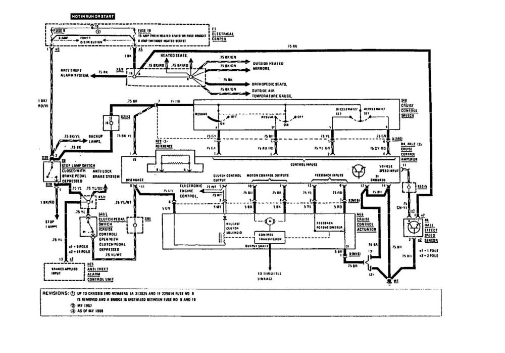 medium resolution of mercedes benz 190e 1991 wiring diagrams speed controls carknowledge 2002 mercedes s430 fuse chart mercedes s500