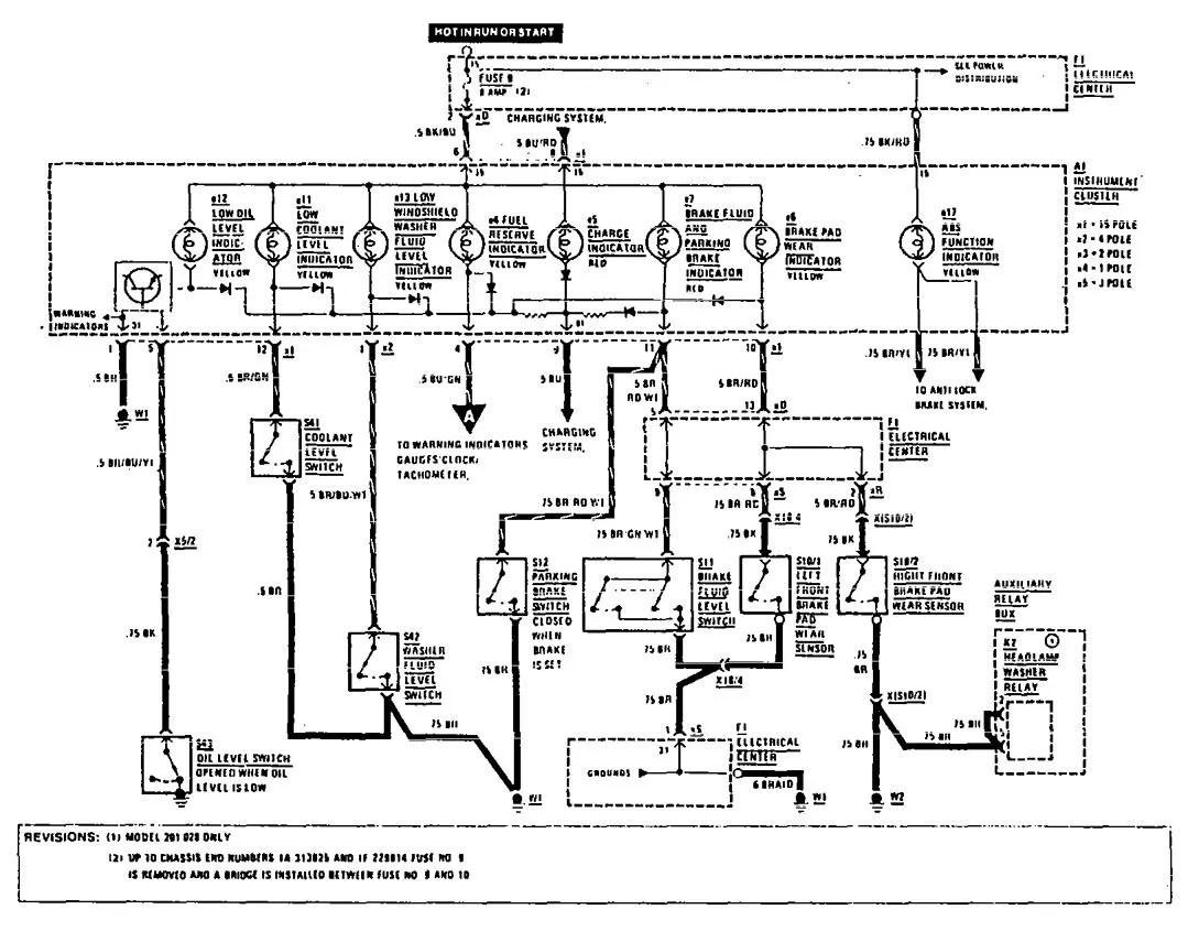 hight resolution of w201 engine wiring diagram wiring diagram advance mercedes benz 190e wiring diagram