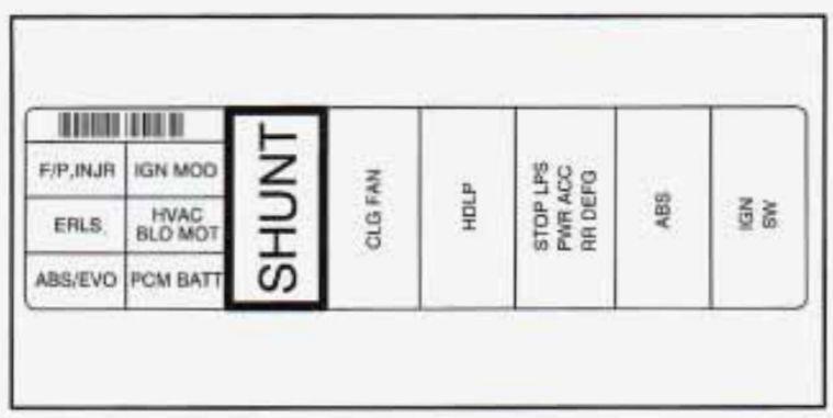 1996 buick skylark fuse box
