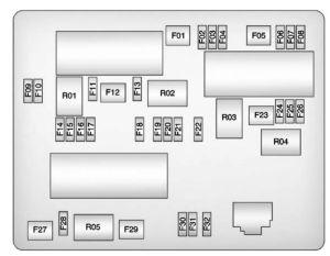Buick Verano (2012 – 2013) – fuse box diagram  CARKNOWLEDGE