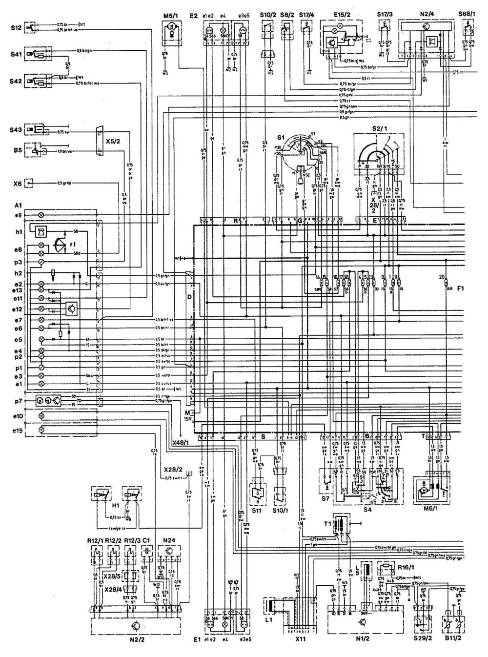 medium resolution of mercedes benz 190e 1993 wiring diagrams starting carknowledge 1993 mercedes benz 190e wiring diagram