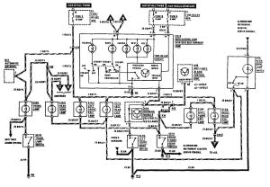 MercedesBenz 300E (1990  1991)  wiring diagrams