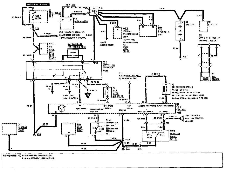 Wiring Diagram 1983 Mercedes 240d. Mercedes. Auto Wiring
