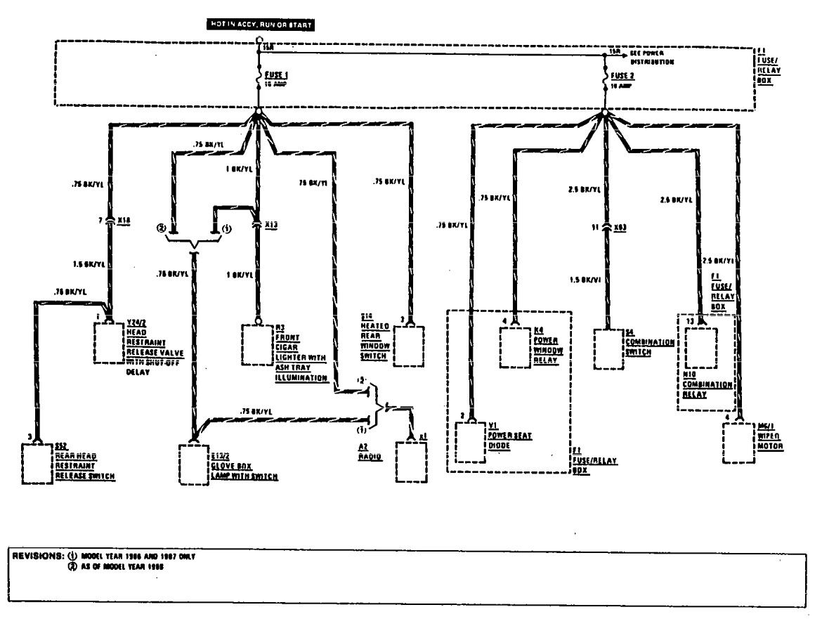 w124 stereo wiring diagram 2002 chevy silverado parts mercedes 190e 2 6 diagrams source