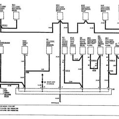 W124 Stereo Wiring Diagram Asm Phase 1993 Mercedes 300e Radio Mercury Grand