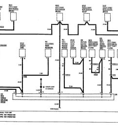 mercedes benz 300e 1990 1991 wiring diagrams ground distribution carknowledge 1989 mercedes benz 300e wiring diagram [ 1173 x 919 Pixel ]