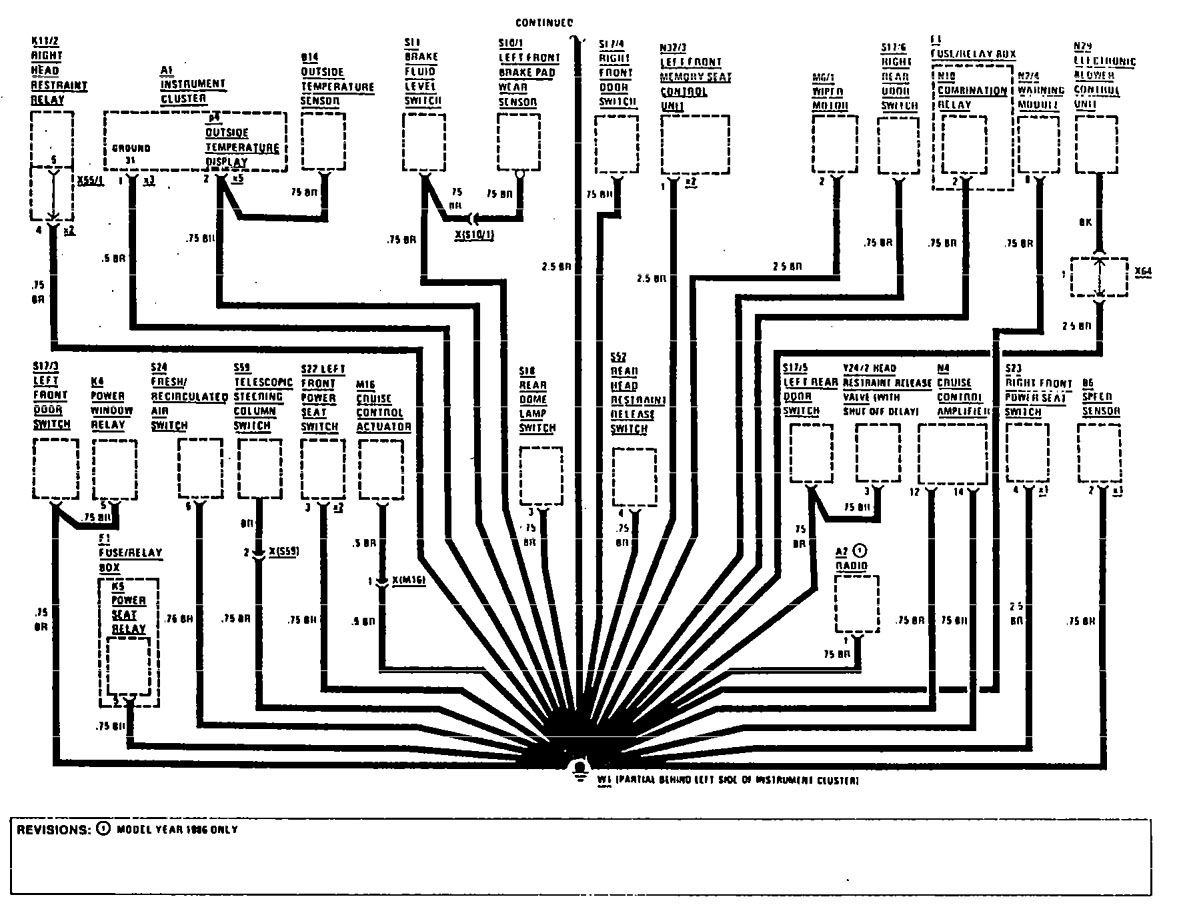 Mercedes Benz 300e Fuse Box Diagram. Mercedes. Auto Wiring