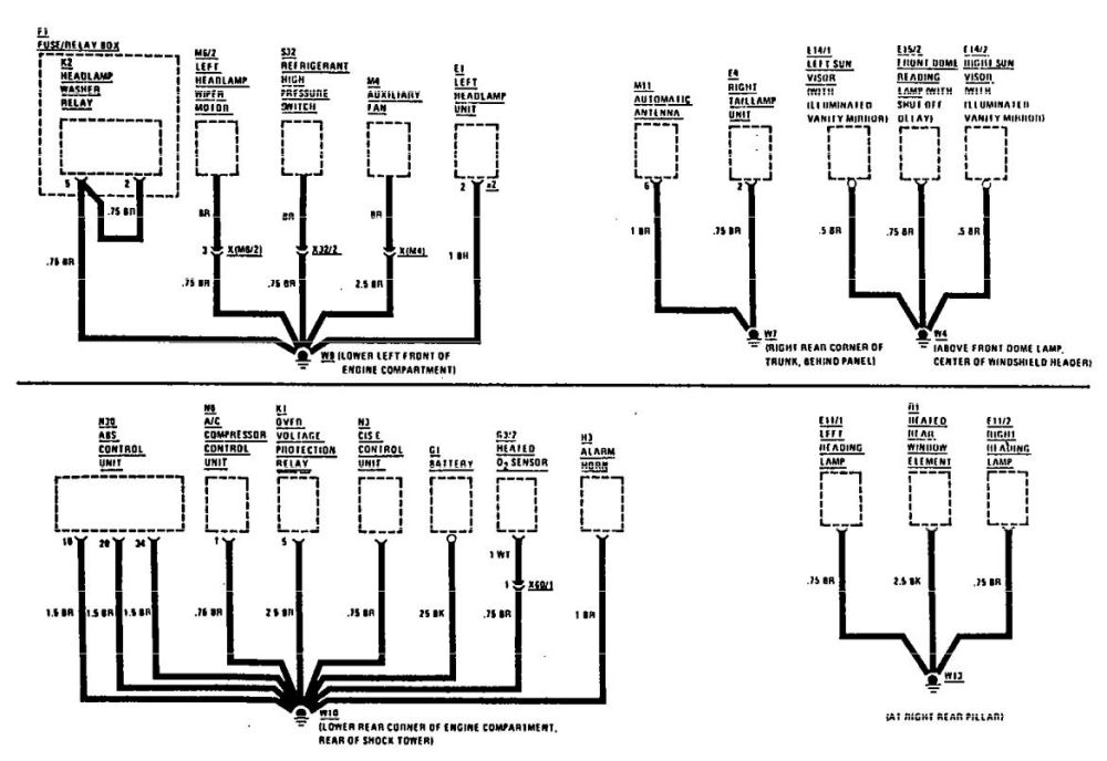 medium resolution of pontiac 6000 wiring diagrams imageresizertool com 1995 mercedes 300e 1997 mercedes 300e