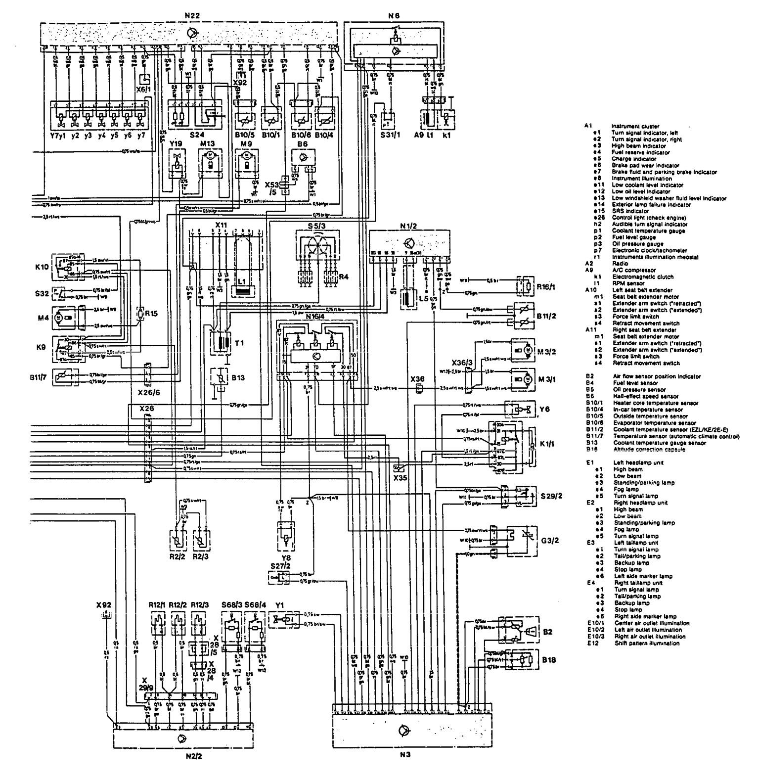 1993 Mercedes Benz 500sl Wiring Diagram Auto Electrical Fuse Box Related With