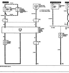 mercedes benz 300e 1990 1991 wiring diagrams hvac controls [ 1181 x 893 Pixel ]