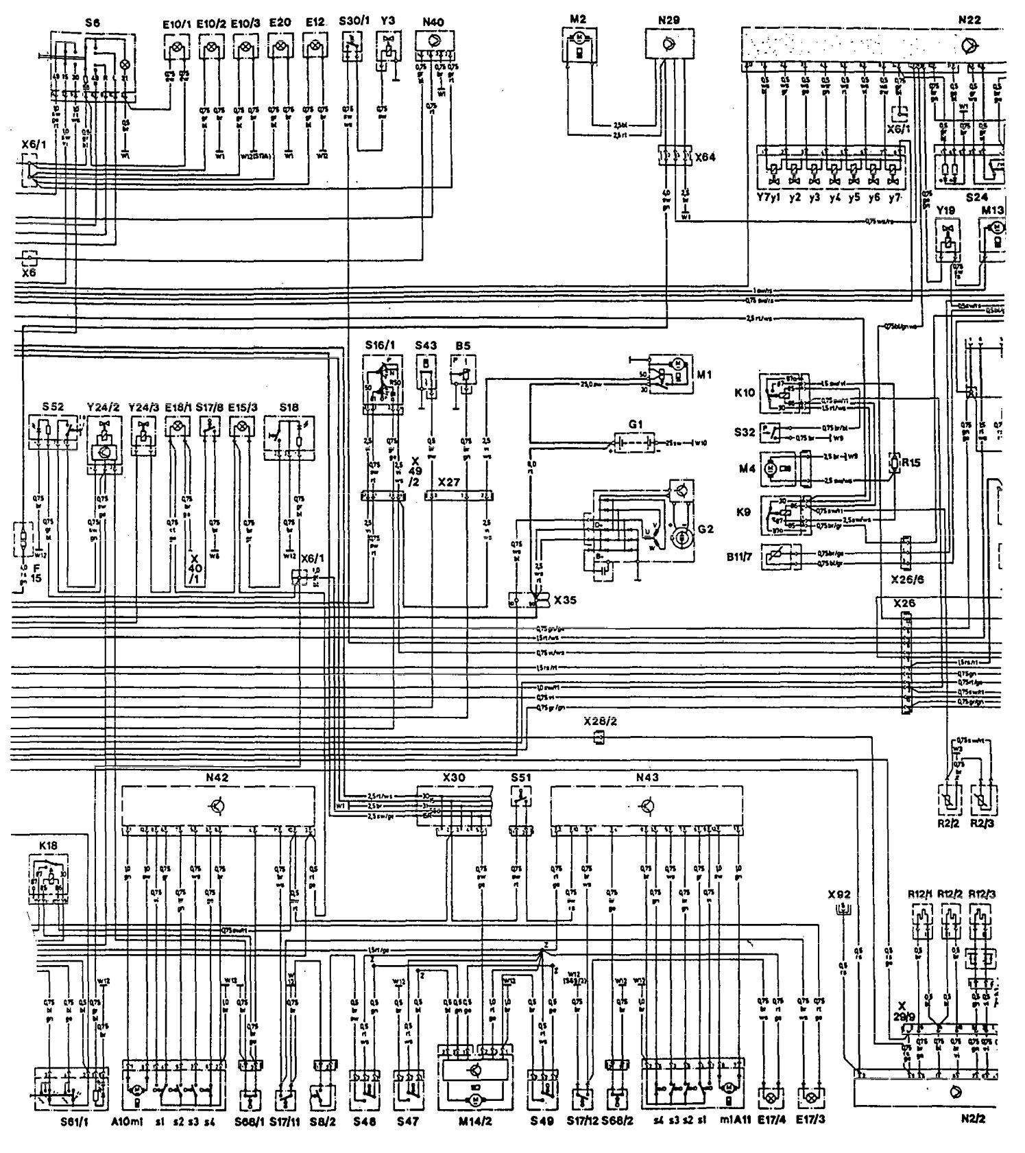 mercedes benz w124 wiring diagram alternator 560c nema 14