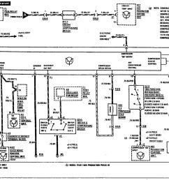 mercedes benz 300e 1990 1991 wiring diagrams hvac controls [ 1205 x 875 Pixel ]