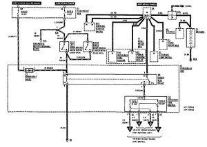 MercedesBenz 300E (1990)  wiring diagrams  power seat