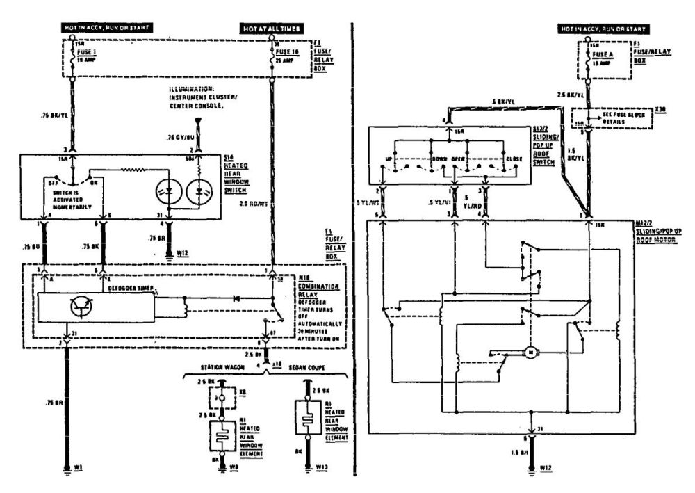 medium resolution of 1990 benz radio wiring wiring diagram used 1990 benz radio wiring