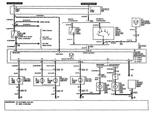 small resolution of mercedes benz 300e 1990 1991 wiring diagrams reverse lamps carknowledge mercedes w124 300e wiring diagram 1992
