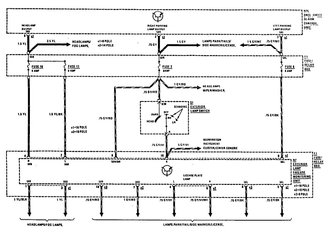 hight resolution of 1990 mercedes 300e wiring diagram find wiring diagram u2022 92 mercedes 1992 mercedes 300e fuse