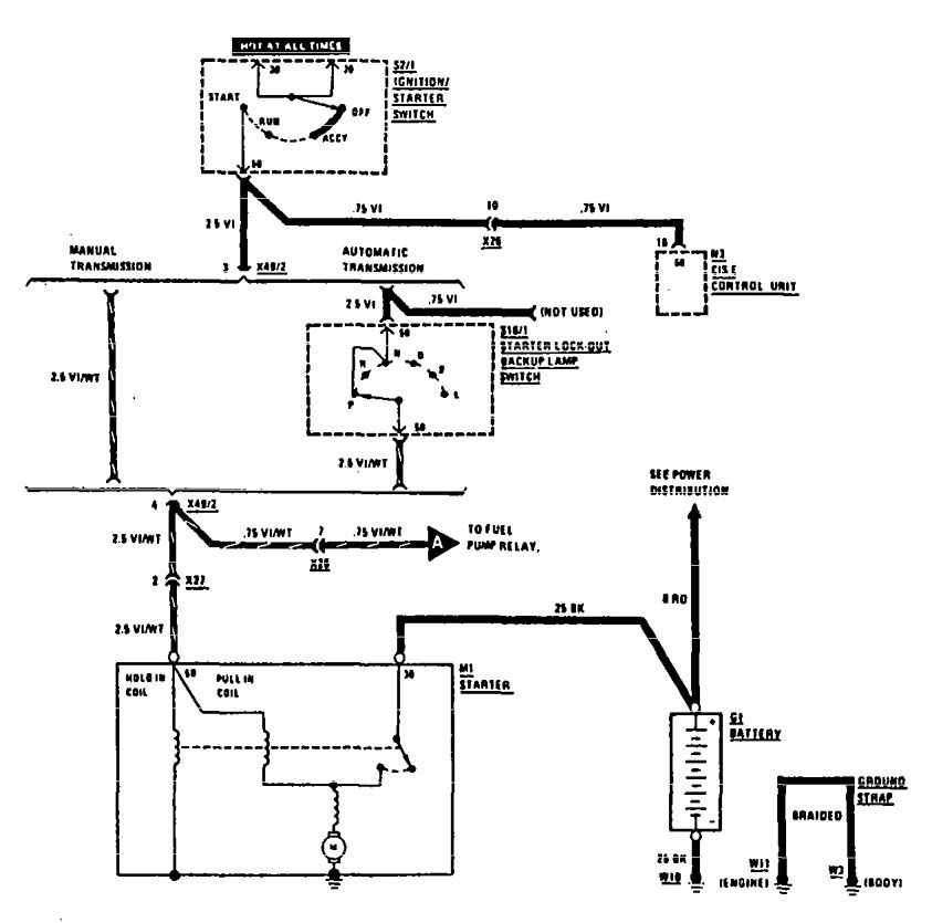 mercedes benz 240d wiring diagram