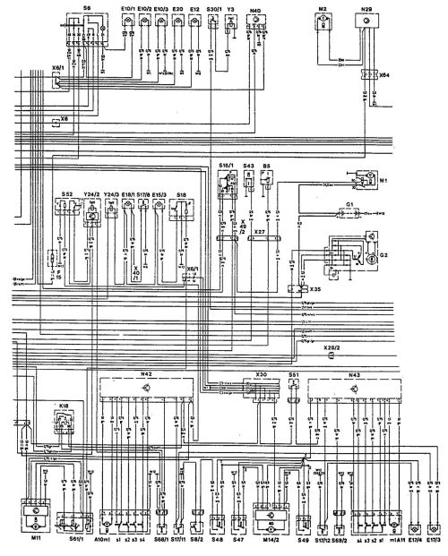 small resolution of mercedes benz 300ce 1992 1993 wiring diagrams starting